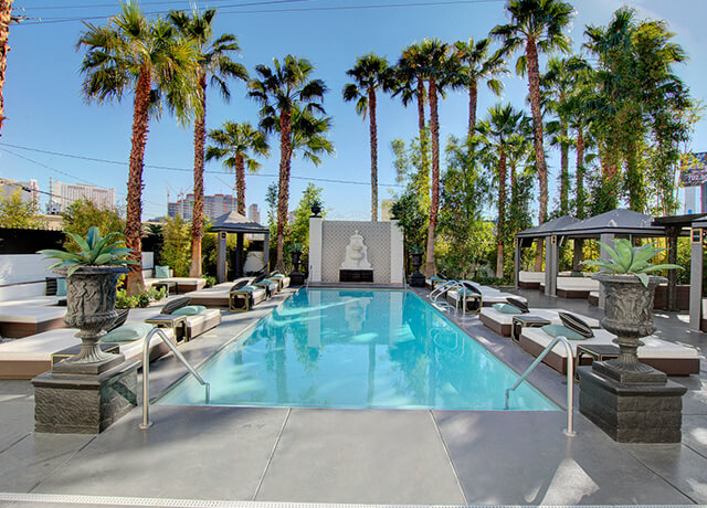 Vacation Barefoot Travel Blog: Vegas now has a naked pool